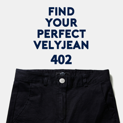 [VELYJEAN] No,402 Straight Leg Dark Blue Jeans