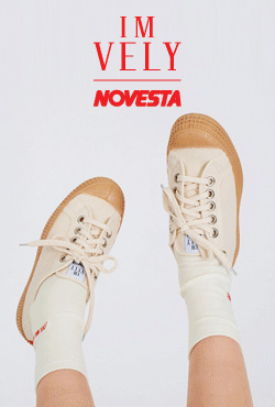 [IMVELY X NOVESTA]Rubber-Soled Canvas Sneakers