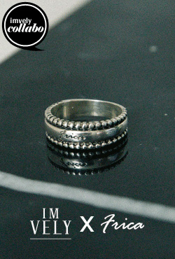 [IMVELY X IMFRICA] Textured Engraved Ring