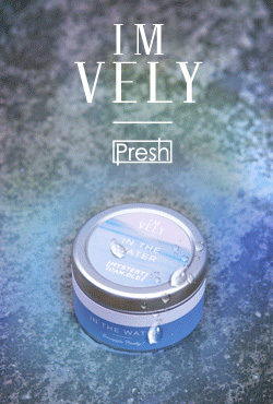 [IMVELY X PRESH] Flat Tin Size Mystery Candle