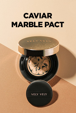 VELY VELY Caviar Marble Pact + Refill